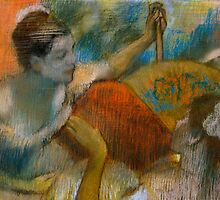 Danseuse a l'Eventail by Bridgeman Art Library