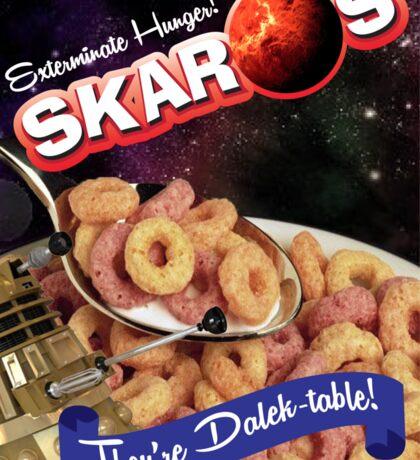Dalek Breakfast Sticker