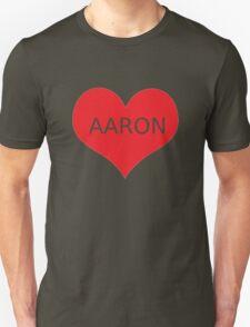 AARON CARPENTER Unisex T-Shirt