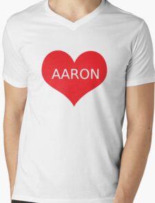 AARON CARPENTER Mens V-Neck T-Shirt