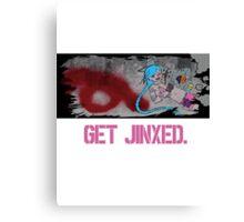 Get Jinxed! Canvas Print