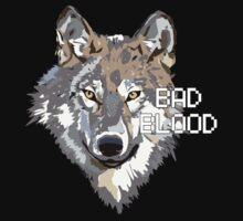 Wolf Bad Blood // Bastille Tshirt by alquimie