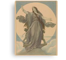 Mother Mary Goddess Art Canvas Print