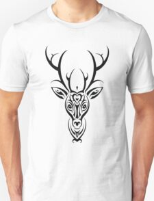 Cute Tribal Aztec Deer Pattern T-Shirt