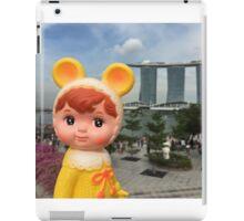 Woodland doll visits Singapore iPad Case/Skin