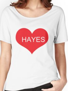 HAYES GRIER Women's Relaxed Fit T-Shirt