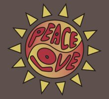 Peace & Love Sun by Kat Kaasila