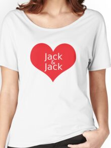 JACK & Jack Women's Relaxed Fit T-Shirt