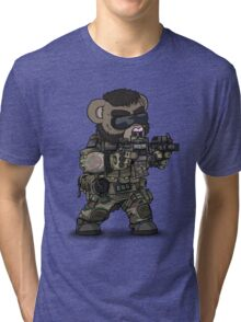 FOO-BEAR (Tan) Tri-blend T-Shirt