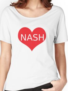 NASH GRIER Women's Relaxed Fit T-Shirt