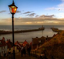 Abbey Steps, Whitby, Yorkshire, UK by burlives