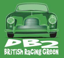 Aston Martin DB2 One Piece - Short Sleeve