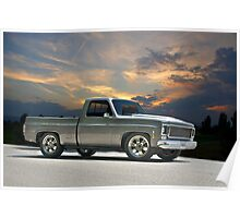 1973 Chevrolet Pick Up Truck Poster