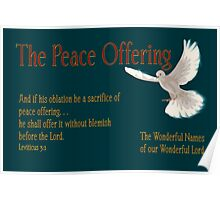 The Peace Offering Poster