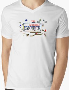 The Incredible Machine TIM Pixel Style - Retro DOS game fan shirt Mens V-Neck T-Shirt