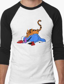 Tigg Attack Men's Baseball ¾ T-Shirt