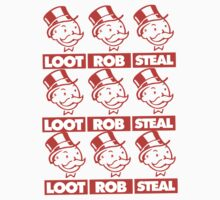 Loot! Rob! Steal! by departmentM