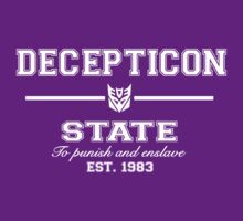 Decepticon State (White) by TheSassmaster