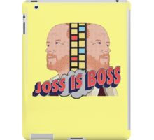 Joss is Boss  iPad Case/Skin