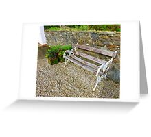 The Weathered Seat Greeting Card