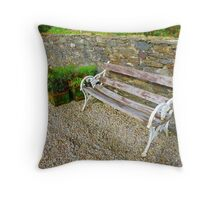 The Weathered Seat Throw Pillow