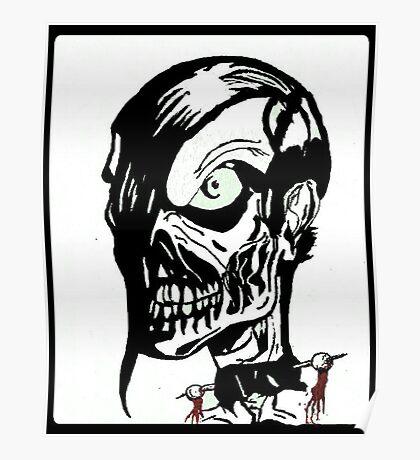 Misfits Skull Artwork Poster