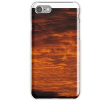 Red Mornings iPhone Case/Skin