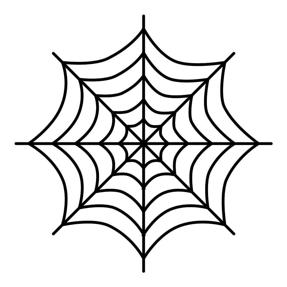 pictures of spider webs clipart