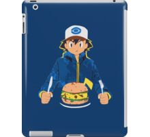 Pikachu Burger pokemon ipad iPad Case/Skin