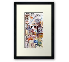 Dada Chart. Framed Print