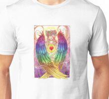 Colorful Angel Unisex T-Shirt