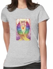 Colorful Angel Womens Fitted T-Shirt