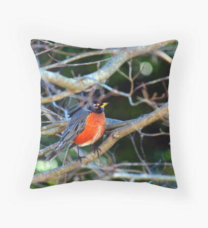 Little Bird Throw Pillow