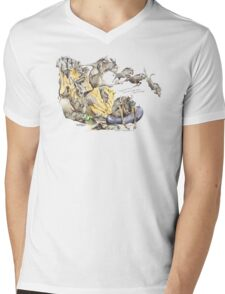 Migration time Mens V-Neck T-Shirt