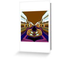 golden fantasy  Greeting Card