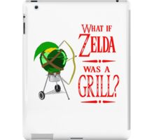 What if Zelda was a Grill? iPad Case/Skin