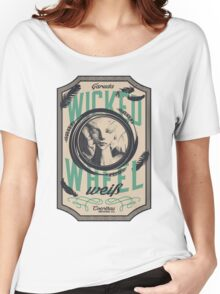 Wicked Wheel Weiß | FFXIV Women's Relaxed Fit T-Shirt