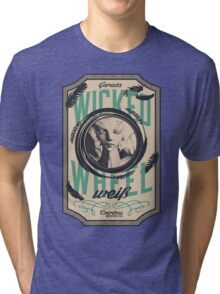 Wicked Wheel Weiß   FFXIV Tri-blend T-Shirt