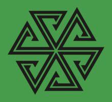 Hexagon Star Tattoo Kids Clothes