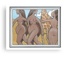 Desert Women Canvas Print