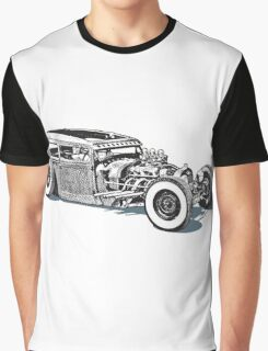 Classic Hot Rod Graphic T-Shirt