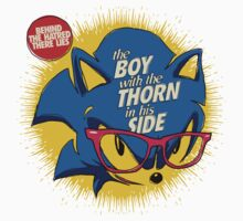The Smiths 8-bit Project - The Hedhehog With a Thorn in His Side Kids Clothes