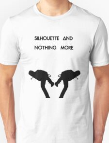 Dan Smith Silhouette (Black on White) T-Shirt