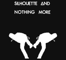 Dan Smith Silhouette (White on Black) by twerewolfitude