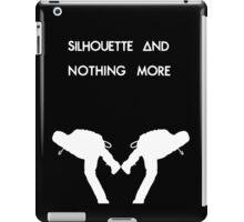 Dan Smith Silhouette (White on Black) iPad Case/Skin