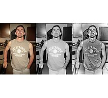 Dennis Deconstructed Triptych Photographic Print