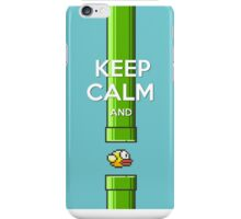 Keep Calm And Flappy Bird iPhone Case/Skin