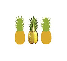 The Very Pineapple of Politeness Photographic Print