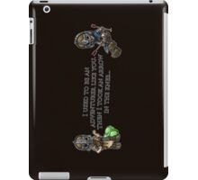 Arrow in the Knee Meme iPad Case/Skin