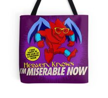 The Smiths 8-bit Project - Heavens Knows I'm Miserable Now Tote Bag
